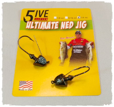 Five Fish Lures - Ultimate Ned Head